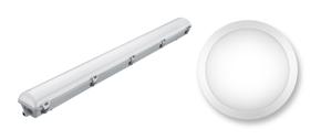LED Vattentäta Armaturer