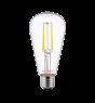 Noxion Lucent Classic LED Filament ST64 E27 6.5W 827 Klar   Extra Varm Vit - Ersättare 60W