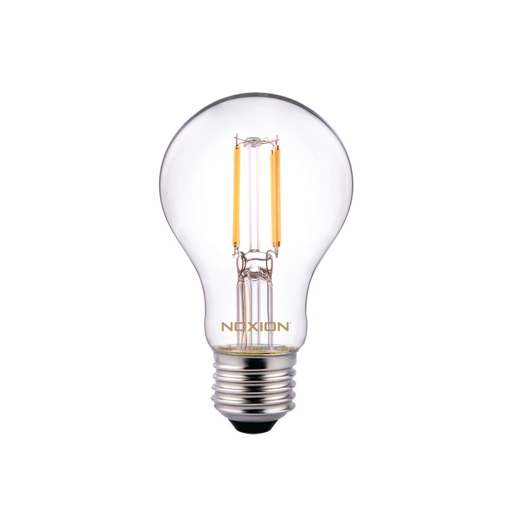 Noxion Lucent Classic LED Filament A60 E27 5W 822-827 Klar | Dimbar - Extra Varm Vit - Ersättare 40W