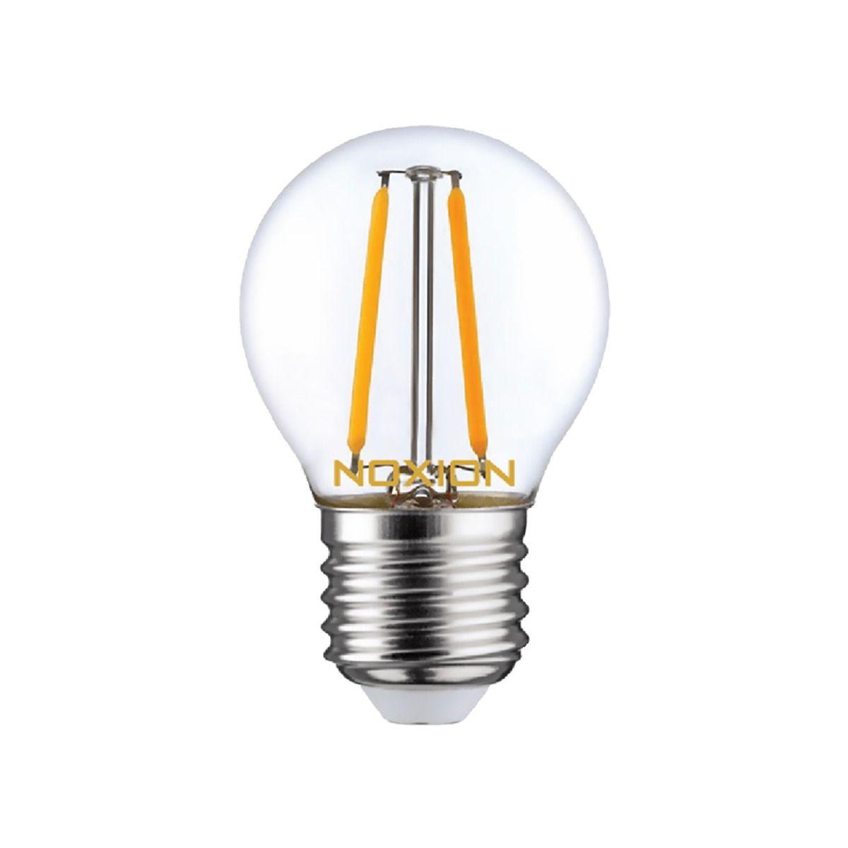 Noxion Lucent LED Lustre E27 2.6W 827 Filament   Extra Varm Vit - Ersättare 25W