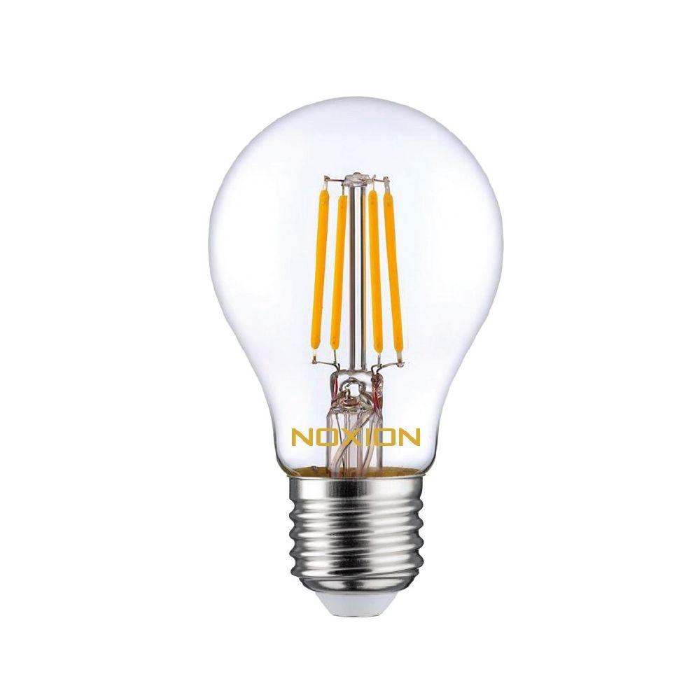 Noxion Lucent Filament LED Bulb 4.5W 827 A60 E27 Klar   Extra Varm Vit - Ersättare 40W