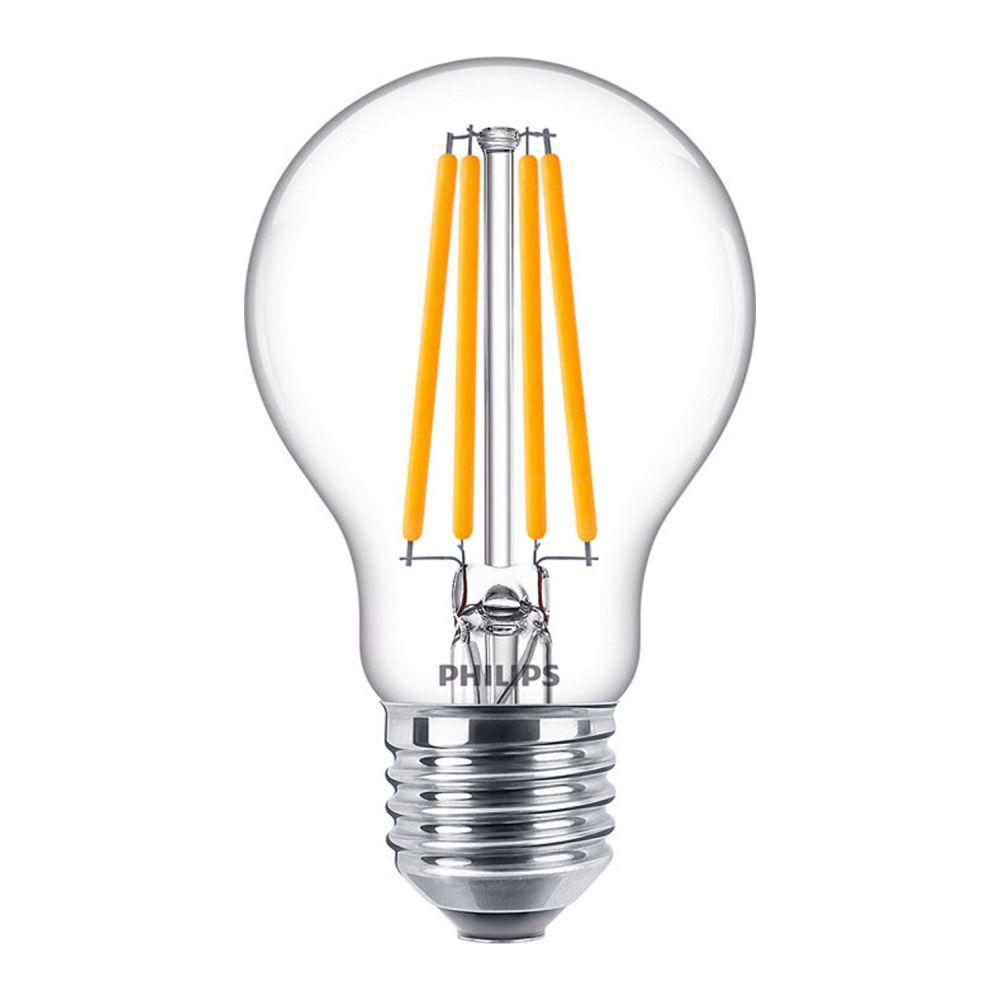 Philips Classic LEDbulb E27 A60 10.5 827 Filament   Extra Varm Vit - Ersättare 100W