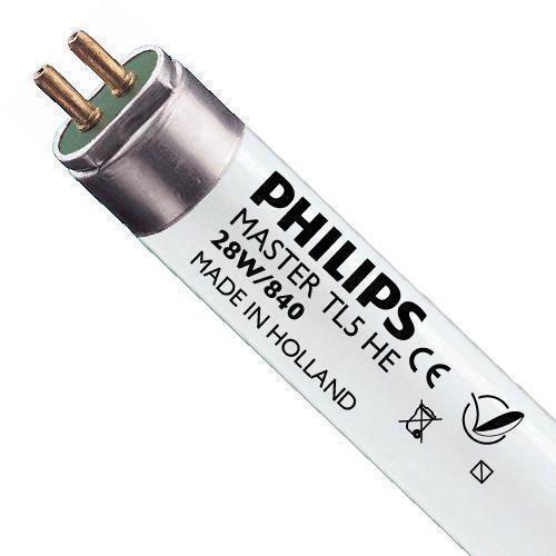 Philips TL5 HE 28W 840 (MASTER) | 115cm - Kallvit