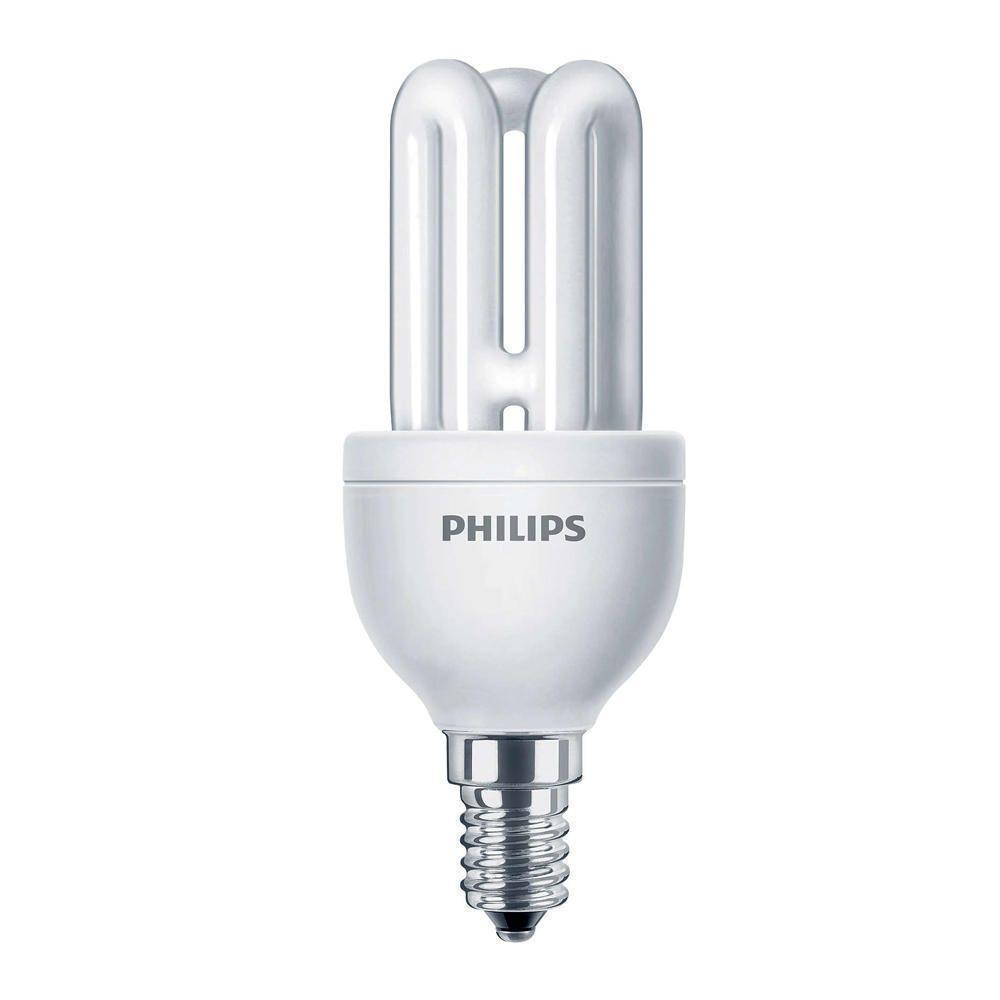 Philips Genie ESaver 8W 827 E14   Extra Varm Vit