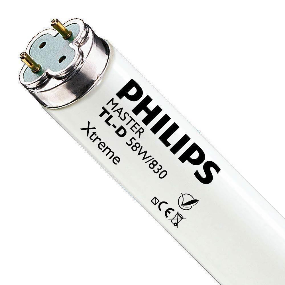 Philips TL-D Xtreme 58W 830 (MASTER)   150cm - Varm Vit