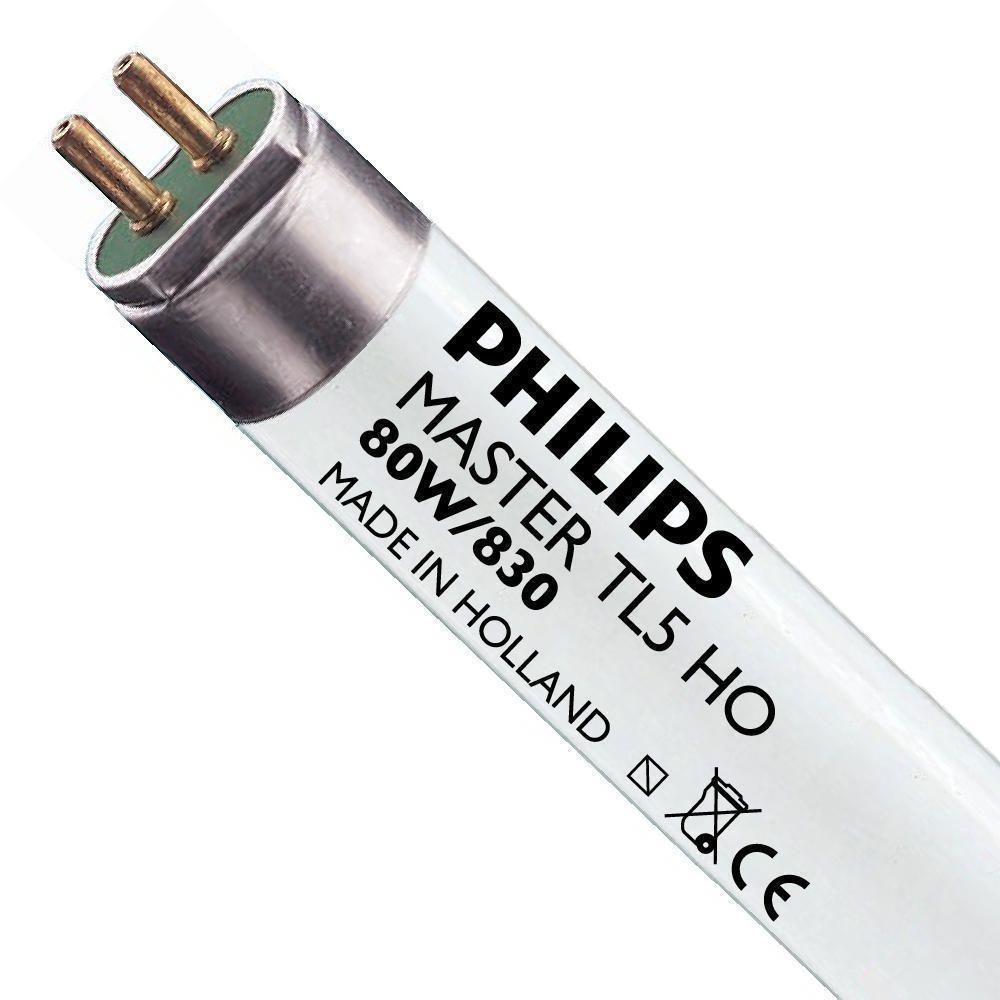 Philips TL5 HO 80W 830 (MASTER) | 145cm - Varm Vit