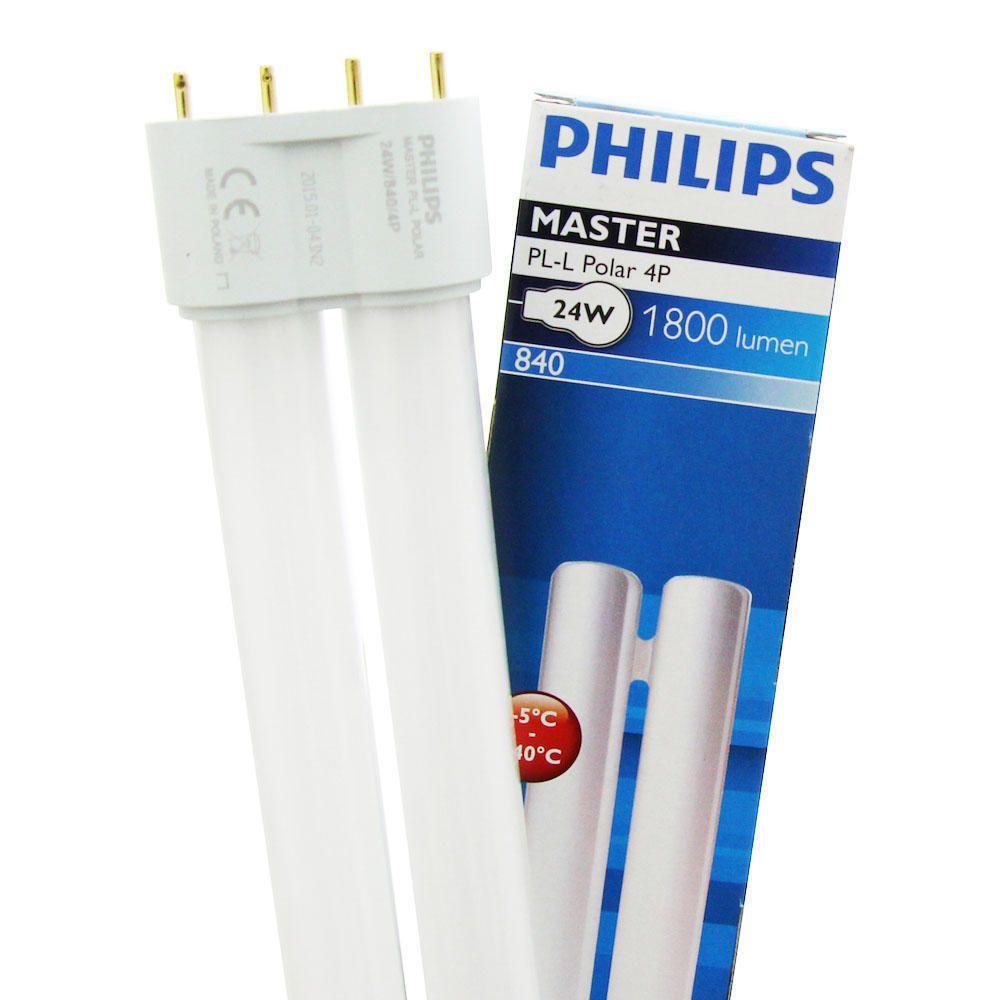 Philips PL-L Polar 24W 840 4P (MASTER) | Kallvit - 4-Stift