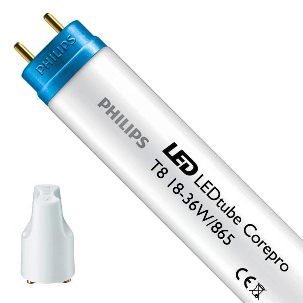 Philips CorePro LEDtube EM/MAINS HO 18W 865 120cm | Dagsljus - LED Glimtändare inkl. - Ersättare 36W