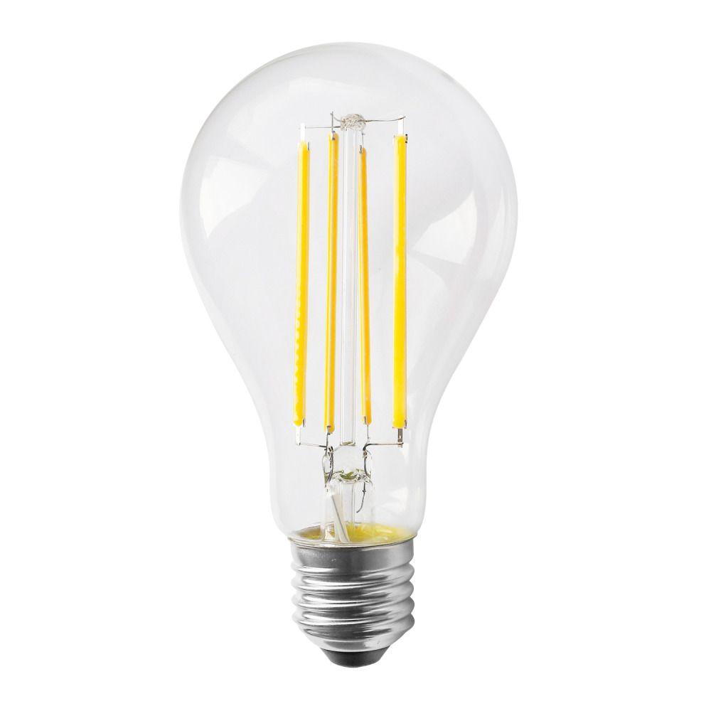 Noxion Lucent Classic LED Filament A70 E27 12W 827 Klar   Extra Varm Vit - Ersättare 100W