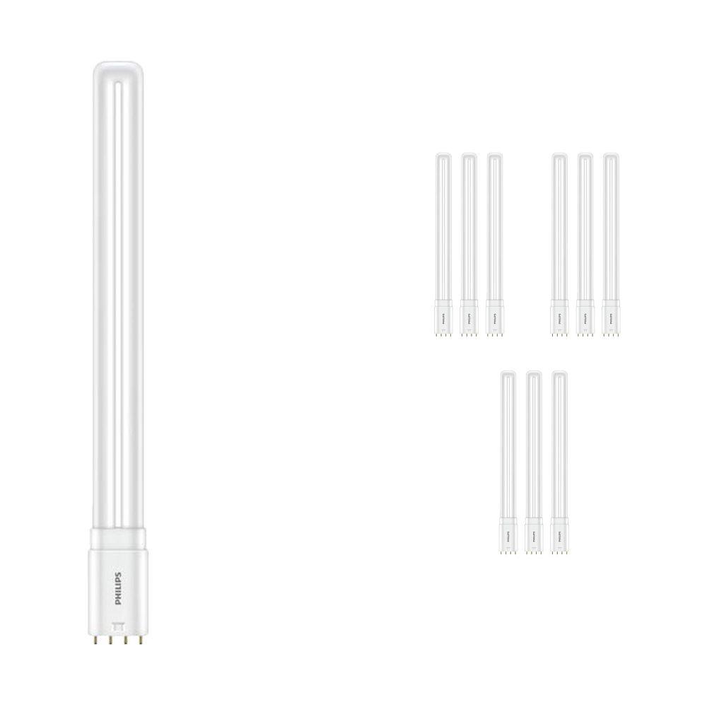 Flerpack 10x Philips CorePro PL-L HF LED 16.5W 830   Varm Vit - 4-stift - Ersättare 36W