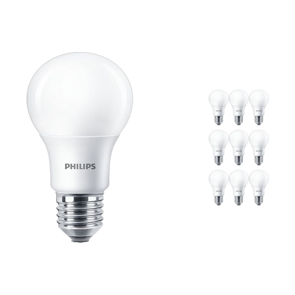 Flerpack 10x Philips LEDbulb E27 A60 5.5W 927 Matt (MASTER) | DimTone Dimbar - Ersättare 40W