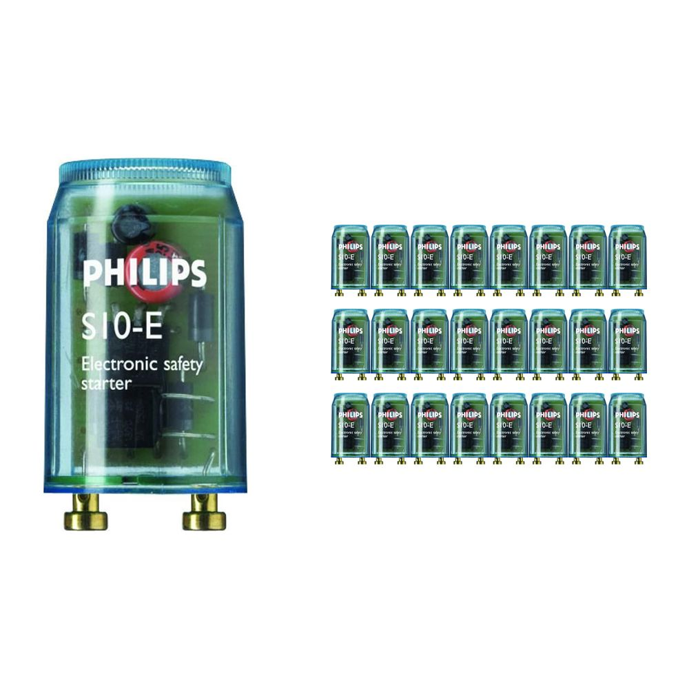 Flerpack 25x Philips Glimtändare  S10E 18-75W SIN 220-240V BL
