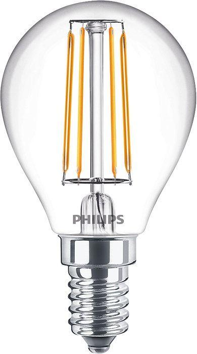 Philips Classic LEDLuster E14 P45 4.3W 827 Klar | Extra Varm Vit - Ersättare 40W