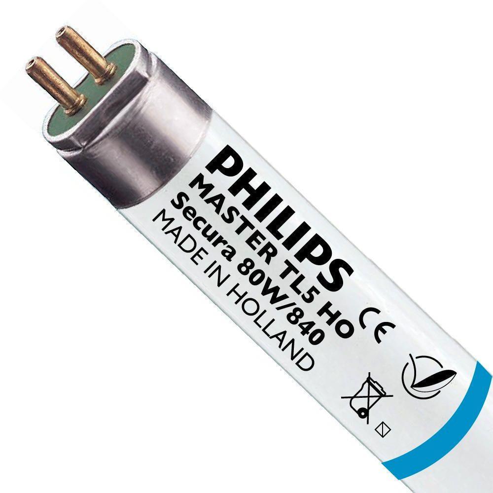 Philips TL5 HO Secura 80W 840 (MASTER) | 145cm - Kallvit