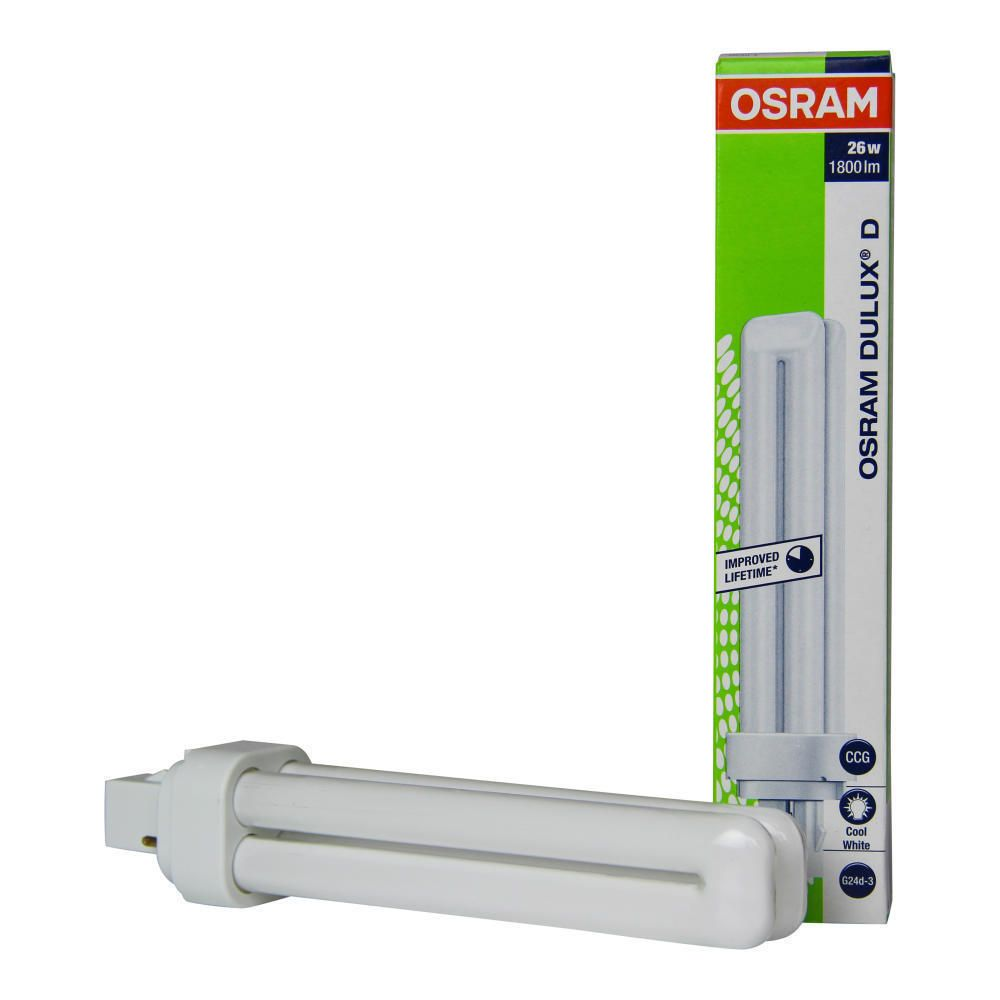 Osram Dulux D 26W 840 | Kallvit - 2-Stift