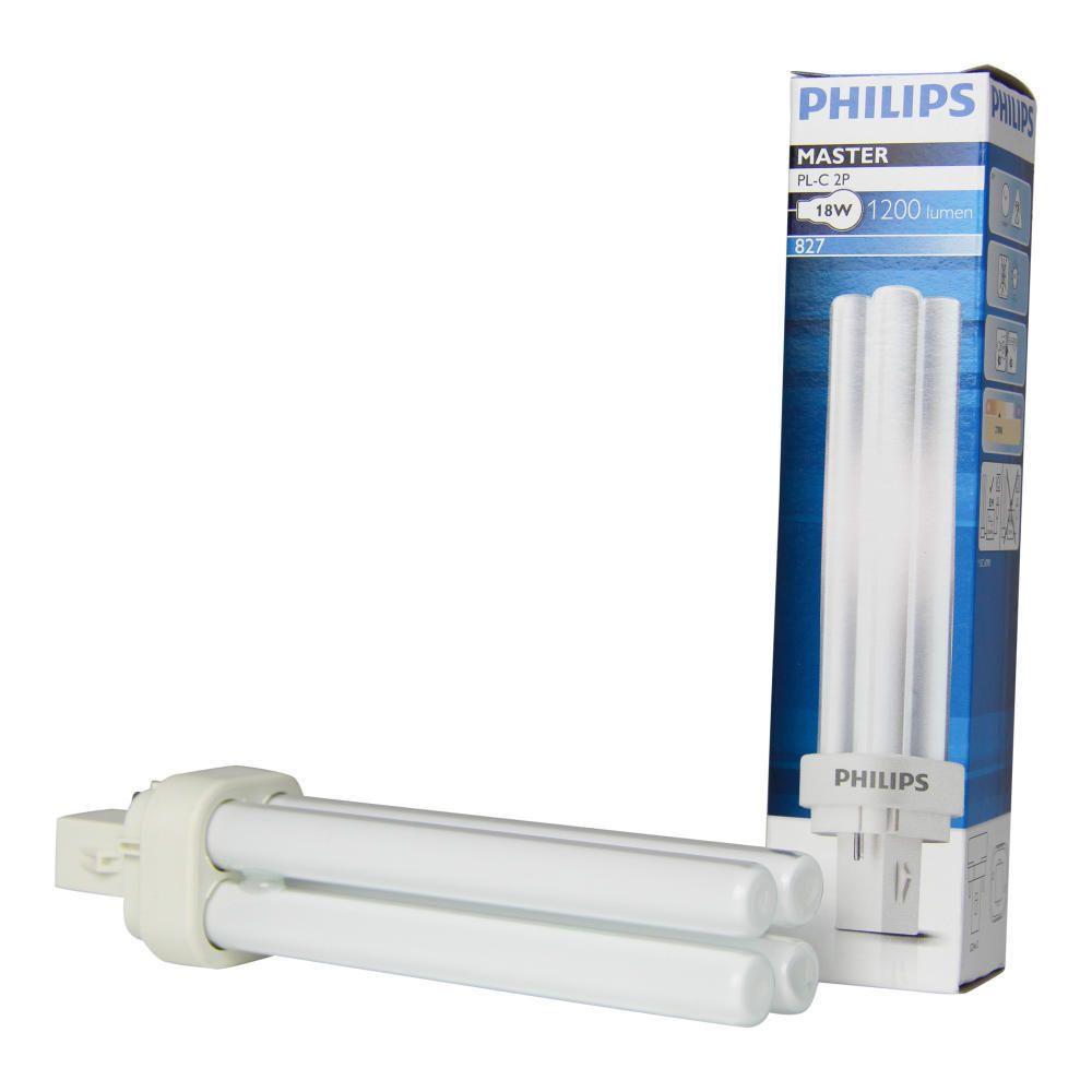 Philips PL-C 18W 827 2P (MASTER) | Extra Varm Vit - 2-Stift