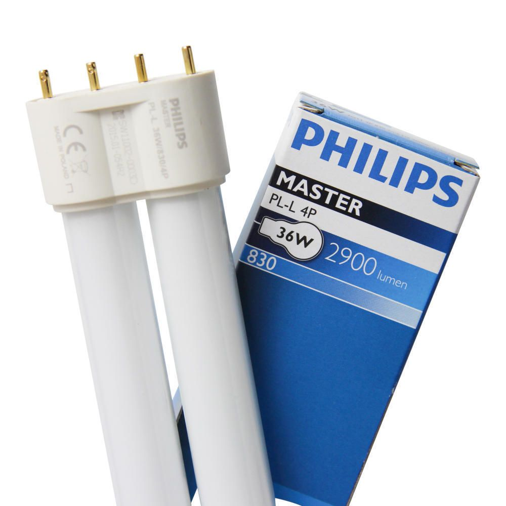 Philips PL-L 36W 830 4P (MASTER)   Varm Vit - 4-Stift
