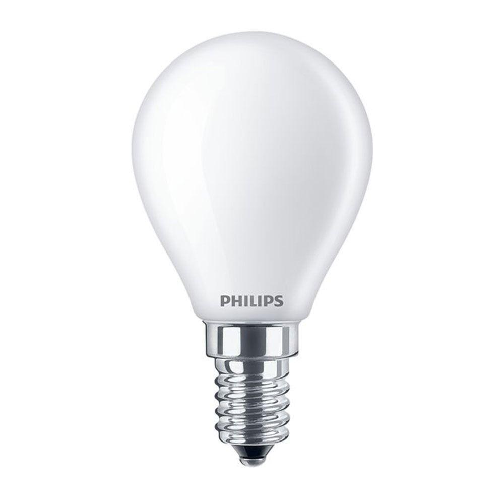 Philips Classic LEDlustre E14 P45 2.2W 827 Matt   Ersättare 25W
