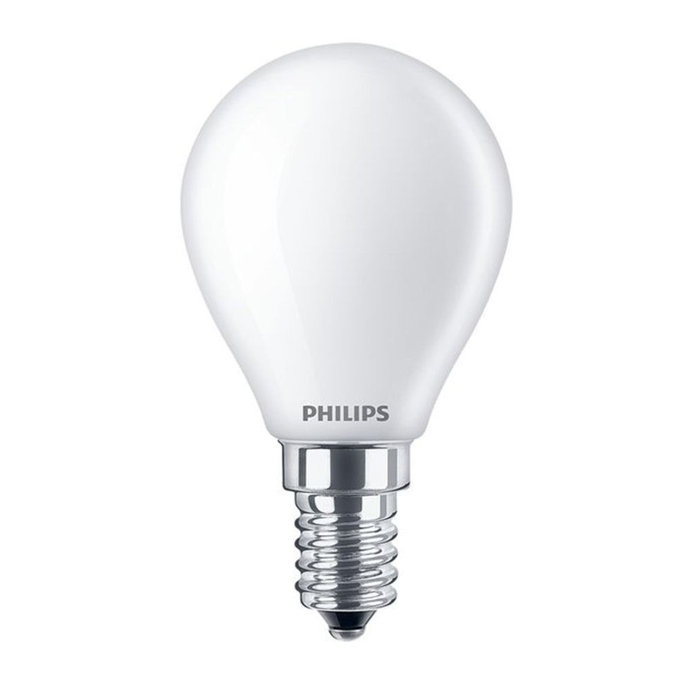 Philips Classic LEDlustre E14 P45 4.3W 827 Matt | Ersättare 40W