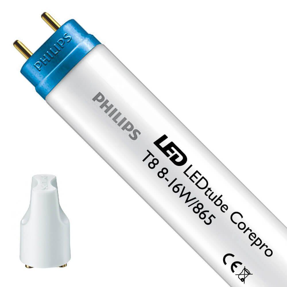 Philips CorePro LEDtube EM 8W 865 60cm | Dagsljus - LED Glimtändare inkl. - Ersättare 18W