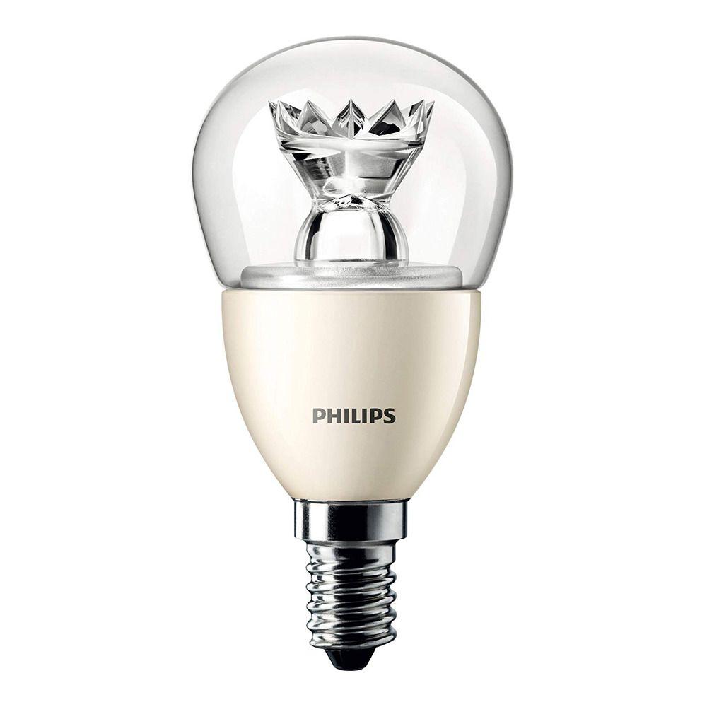 Philips LEDluster E14 P48 4W 827 Klar (MASTER)   DimTone Dimbar - Ersättare 25W