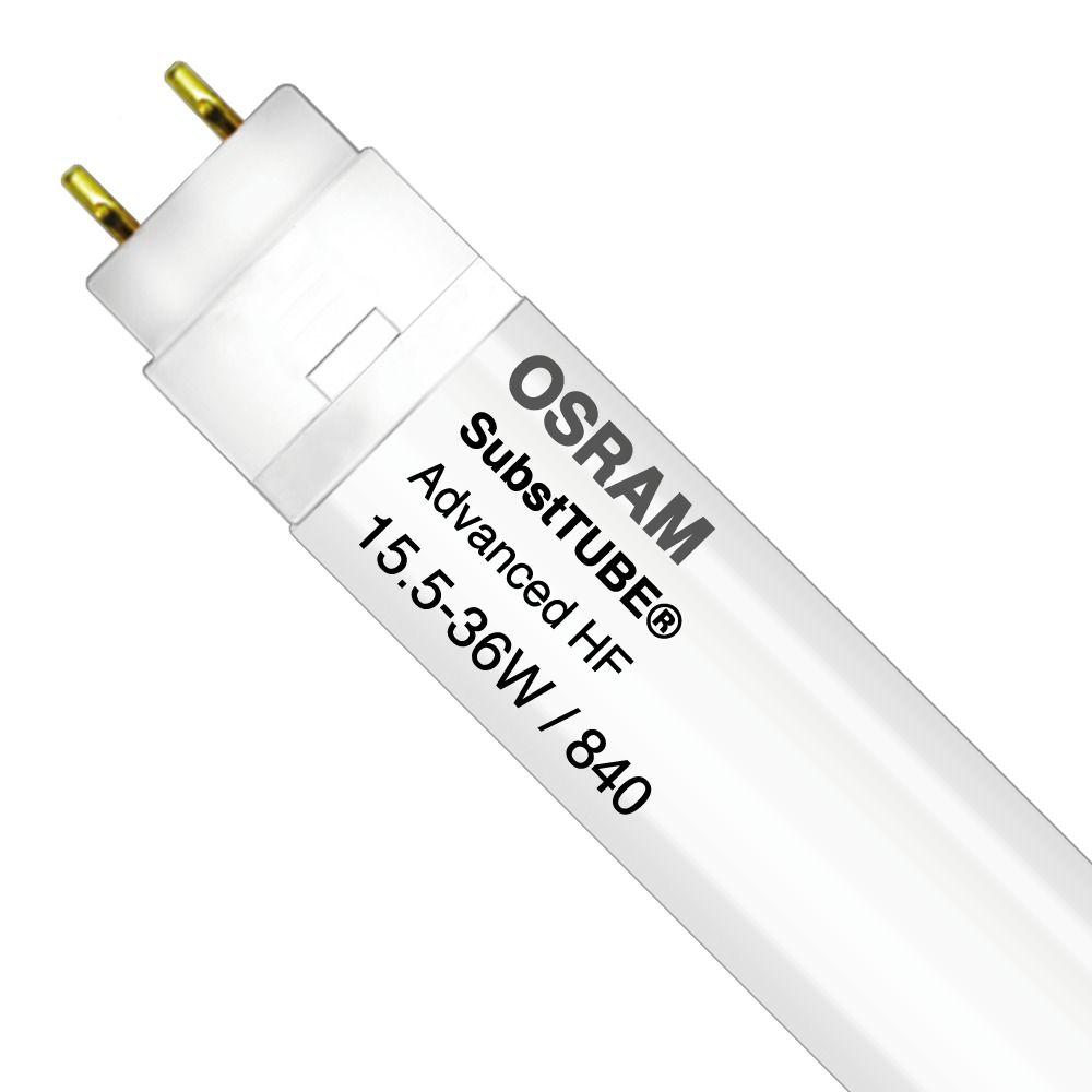 Osram SubstiTUBE Advanced HF UO 15.5W 840 120cm | Kallvit - Ersättare 36W