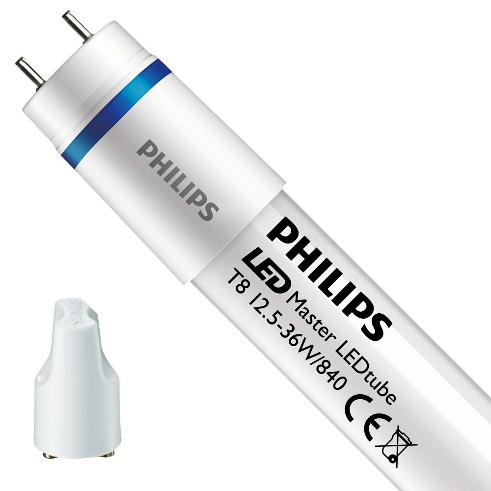 Philips LEDtube EM HO 12.5W 840 120cm (MASTER)   Kallvit - LED Glimtändare inkl. - Ersättare 36W