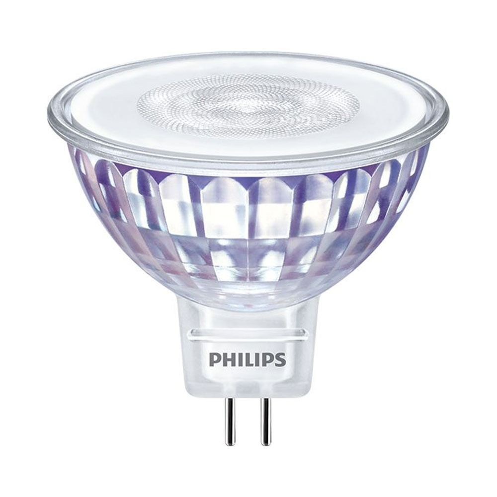 Philips LEDspot LV Value GU5.3 MR16 5.5W 830 60D (MASTER) | Varm Vit - Dimbar - Ersättare 35W