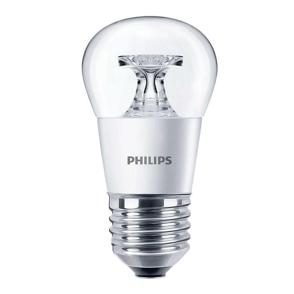 Philips CorePro LEDluster E27 P45 5.5W 827 Klar   Ersättare 40W