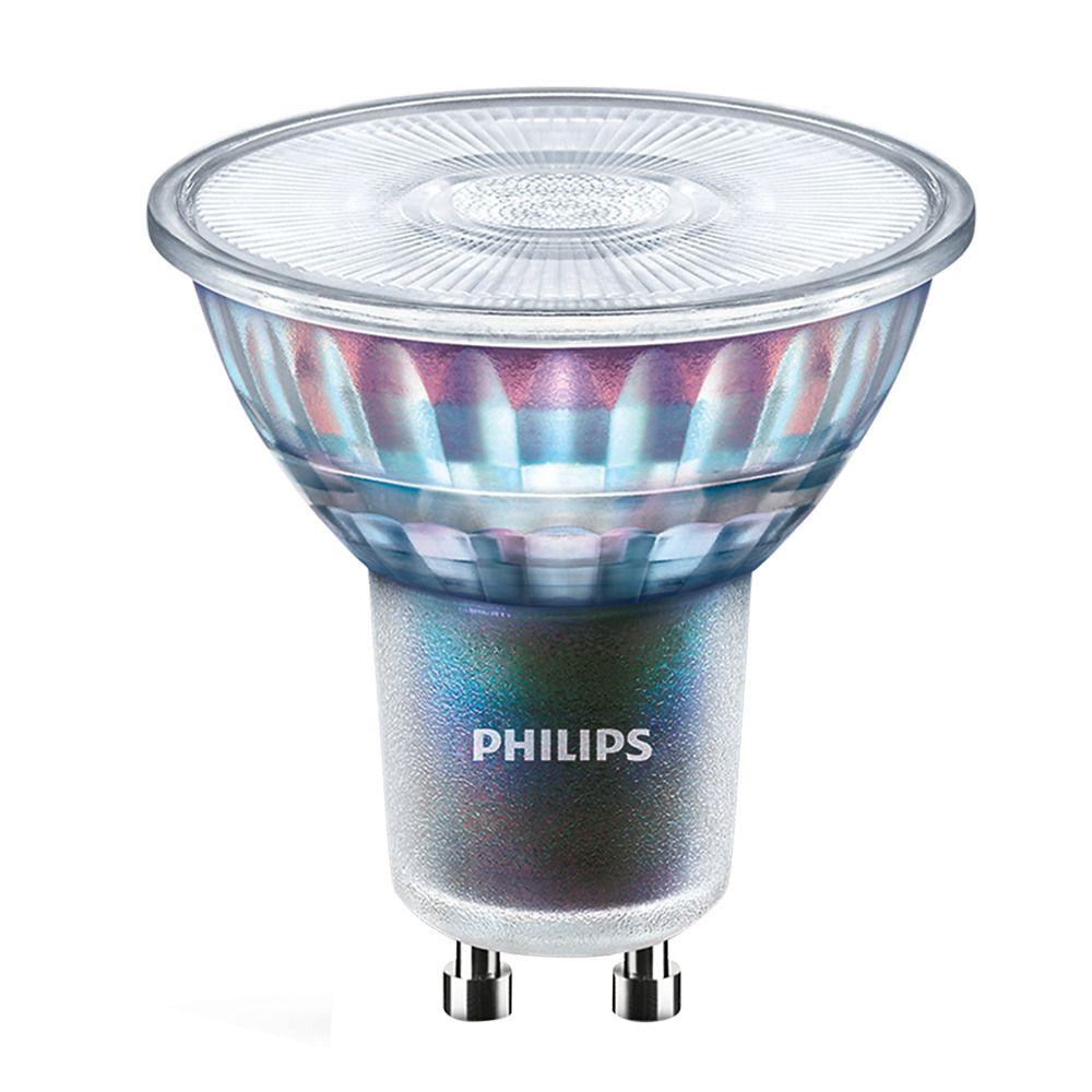 Philips LEDspot ExpertColor GU10 5.5W 930 25D (MASTER) | Bästa färgåtergivning - Varm Vit - Dimbar - Ersättare 50W
