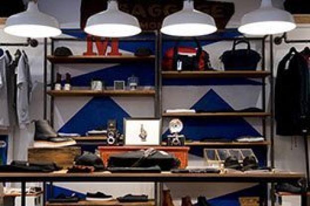 LED-belysning för detaljhandel: Modebutiker