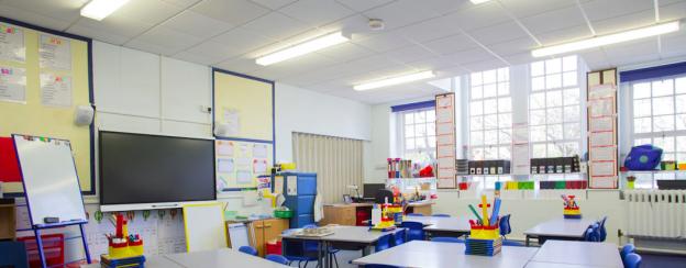 LED-belysning för skolor