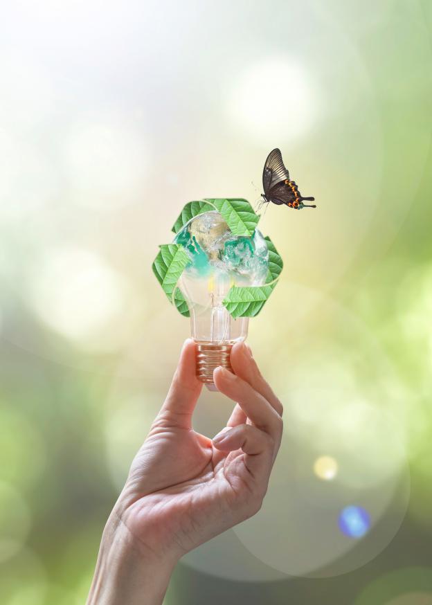 Kan man återvinna LED-lampor?