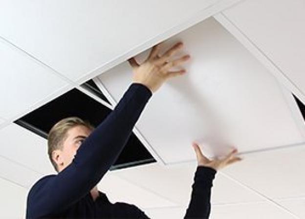 Hur installerar man en LED panel?