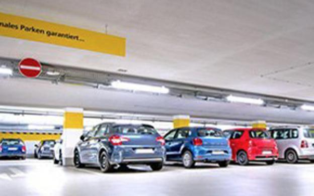 LED-belysning till parkeringsplatser