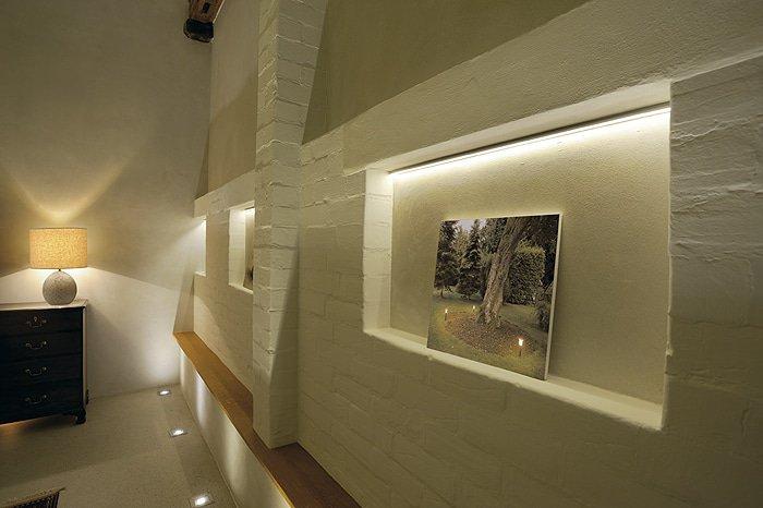 LED belysning slinga
