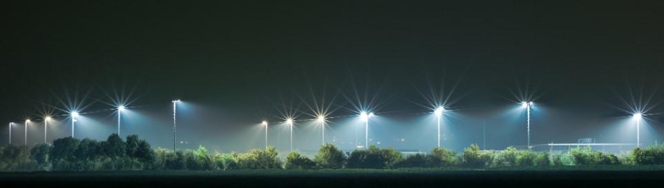 utebelysning LED