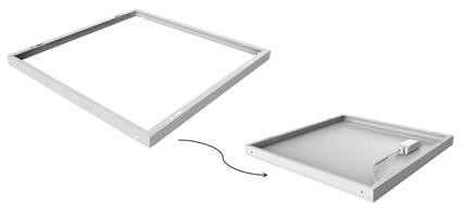 Ram för Noxion LED-paneler
