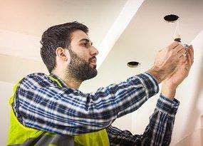 Installation av infällda LED-armaturer