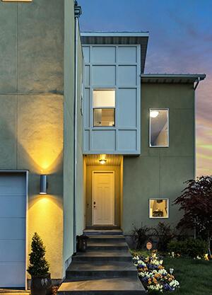 LED rörelsesensorer utomhus.
