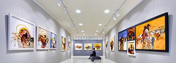LED skensystem i ett museum