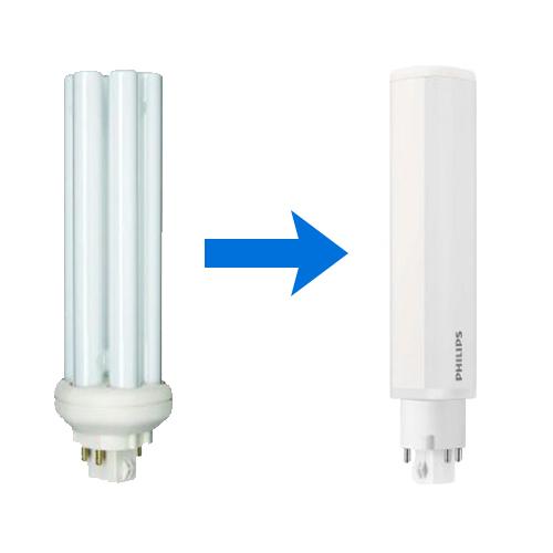 Gammal vs. LED