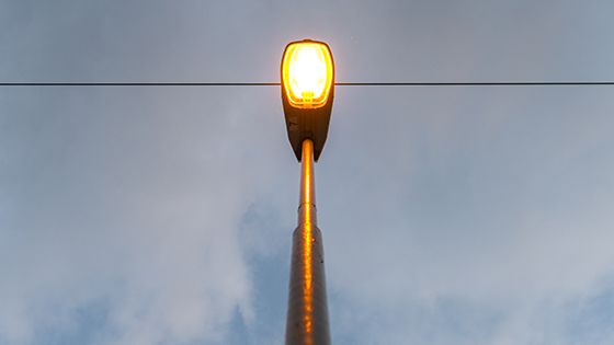 Högtrycksnatriumlampa