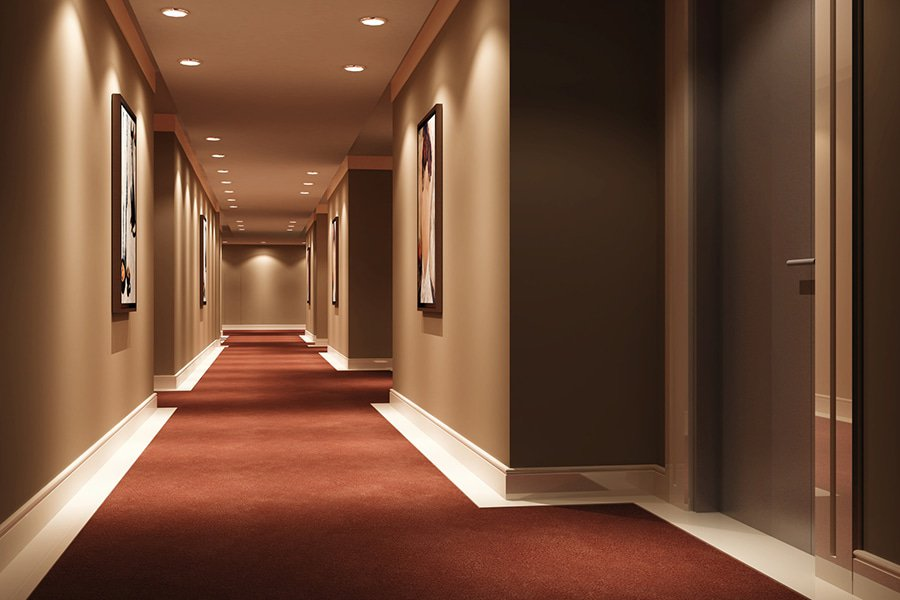 LED spots hotell