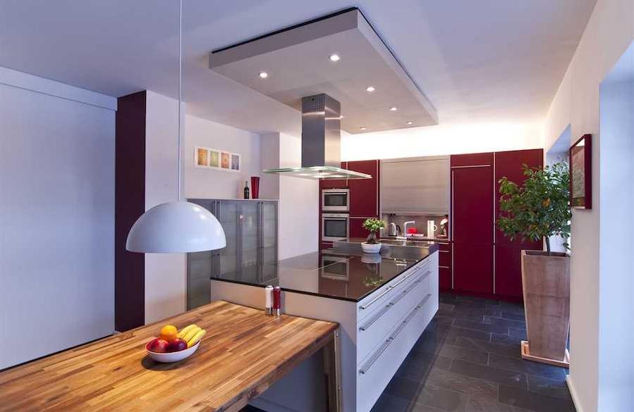 LED infällda spots köket