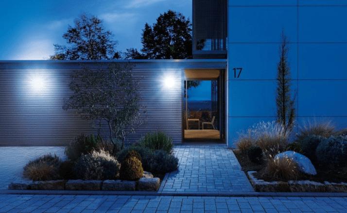 LED väggbelysning utebelysning